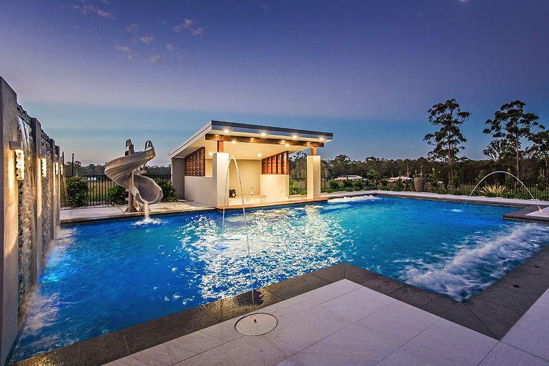 Swimming pool builder brisbane quality pool builders in for 3d pool design brisbane